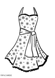 Disegni Di Moda Da Colorare.Disegni Di Vestiti Da Stampare E Colorare Gratis Portale Bambini Dresses Coloringpages Coloring Vestiti Disegni Vestito Disegni