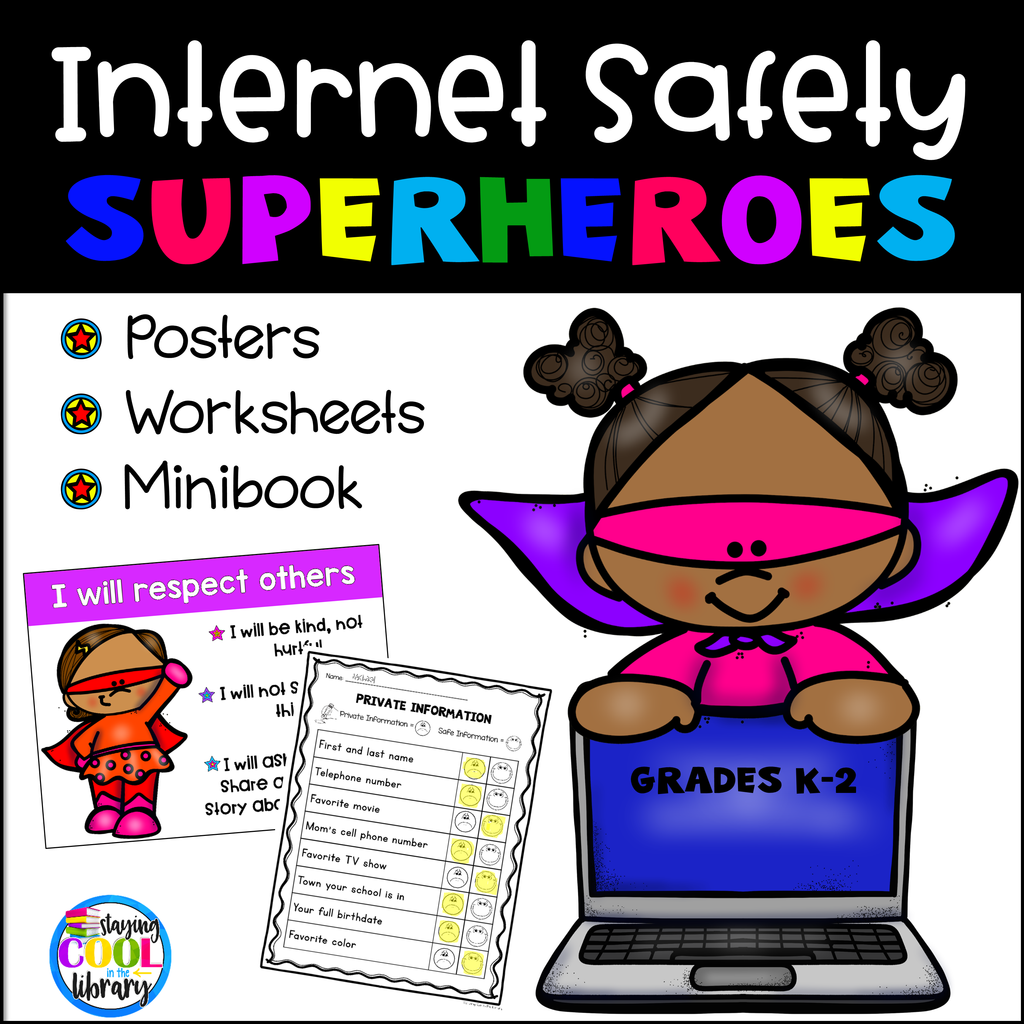 Internet Safety Posters And Activities K 2 With Images