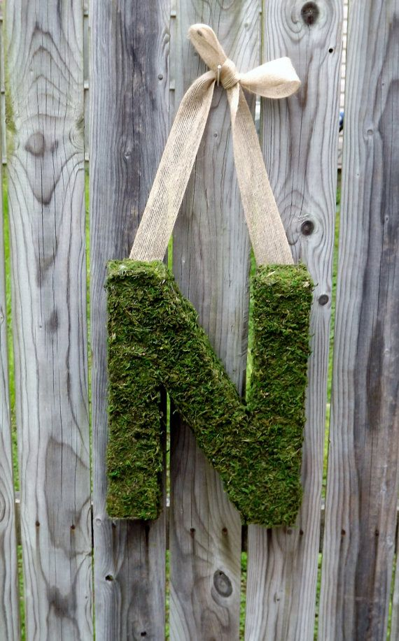 Moss Covered Letters Unique Moss Covered Letter  Moss Covered Letters 2018