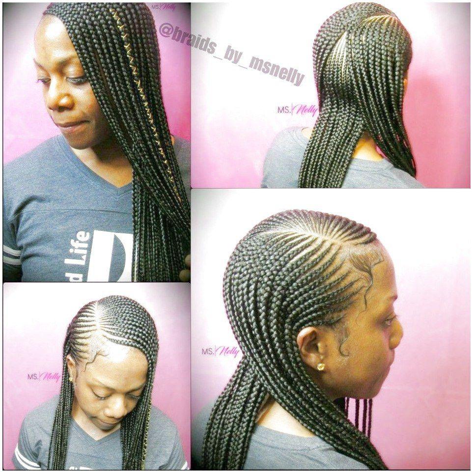 Feed In Braid Braided Hairstyles Goddess Braids Hairstyles