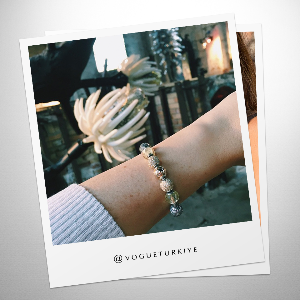 Fashion magazine vogue türkiye created this stunning pandora essence