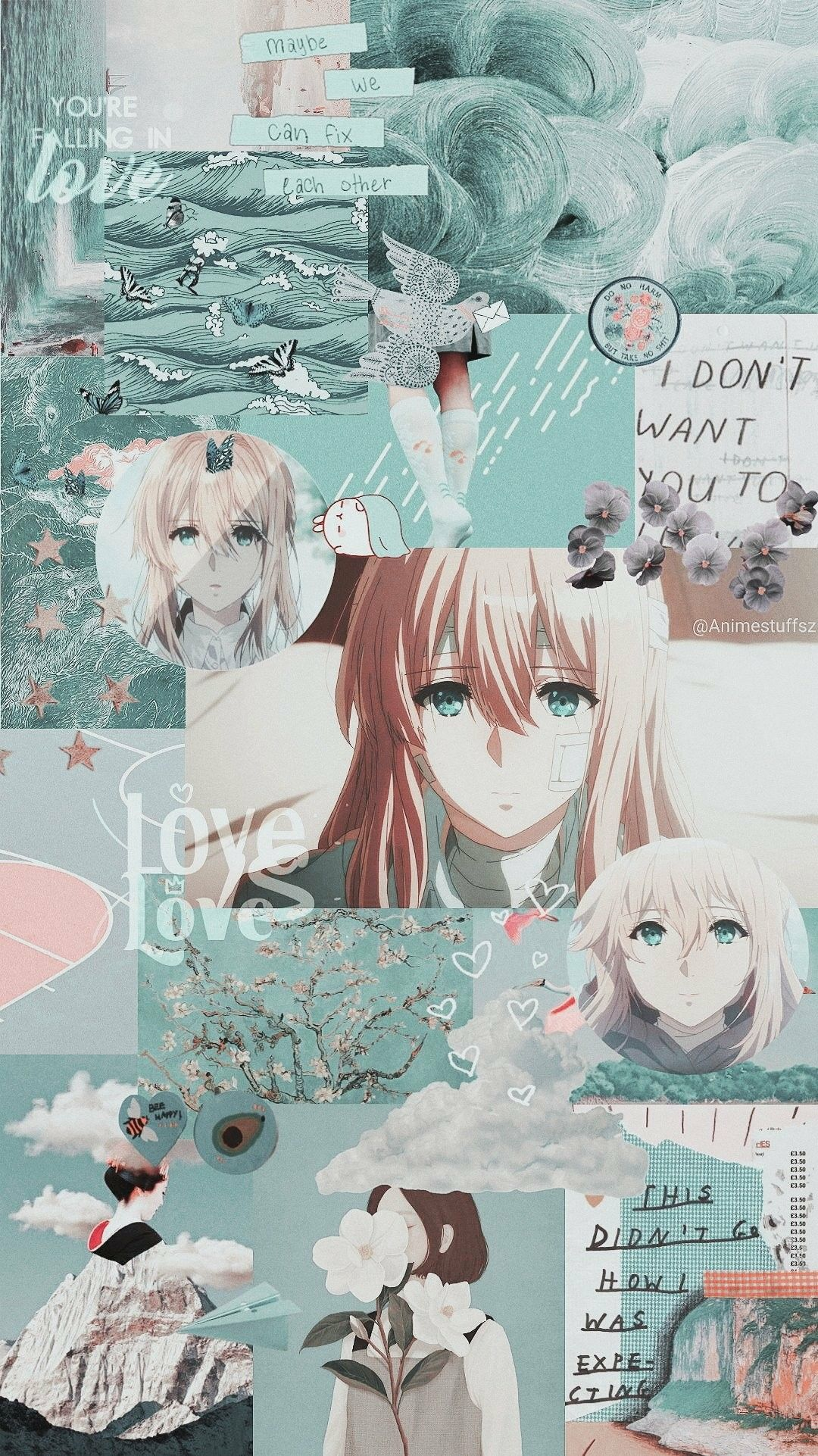 Get Latest Aesthetic Anime Wallpaper Iphone In 2020 Aesthetic Anime Violet Evergarden Anime Anime Wallpaper Iphone