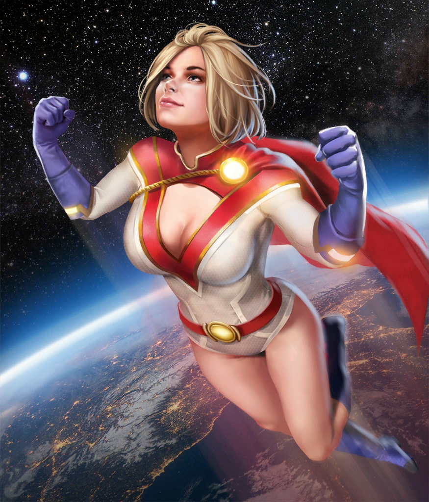 Injustice 2 Mobile Roster Power Girl Comics Power Girl Injustice 2