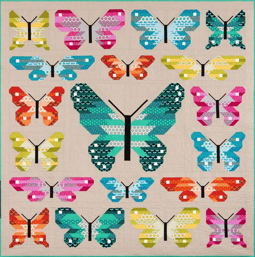 LEPIDOPTERA Pdf Quilt Pattern