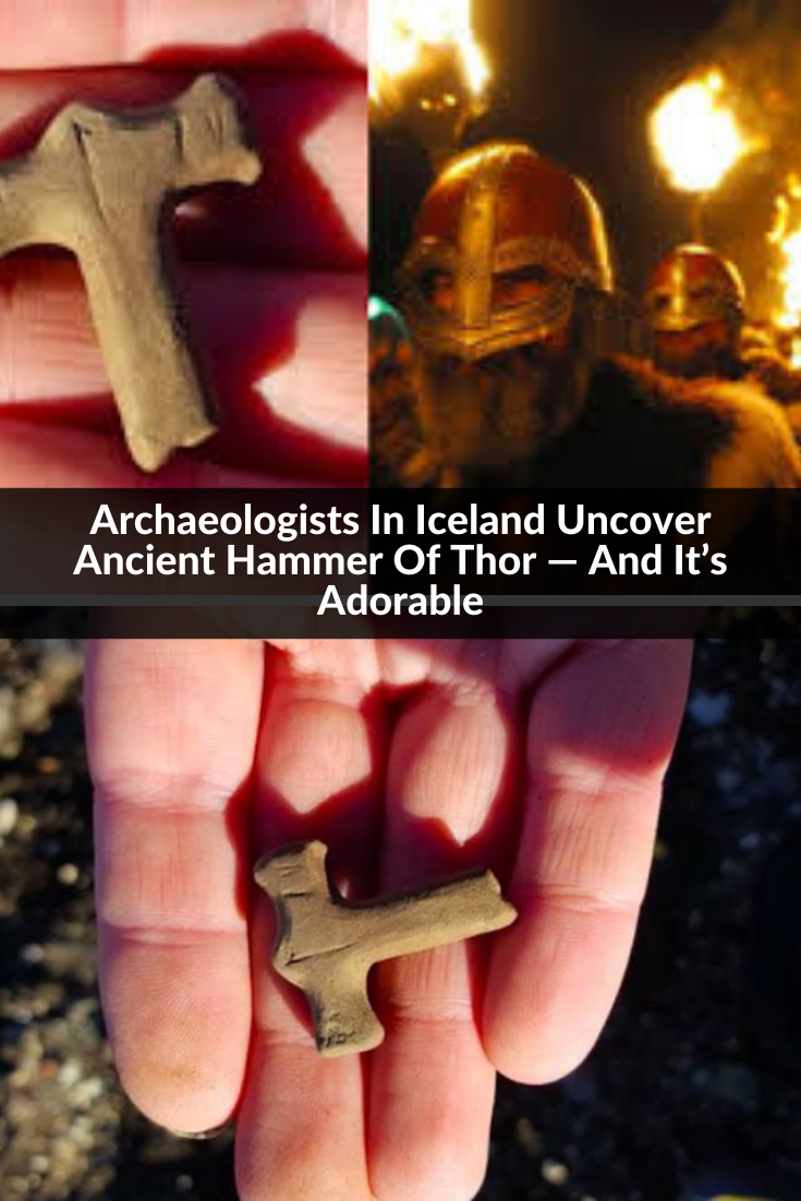 Latest Funny Facts Archaeologists In Iceland Uncover Ancient Hammer Of Thor — And It's Adorable Archaeologists In Iceland Uncover Ancient Hammer Of Thor — And It's Adorable 6