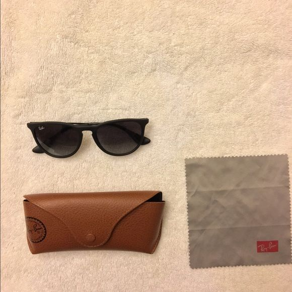 Ray-Ban Sunglasses Plastic frames, very light. Very good condition, worn maybe 3 times. Ray-Ban Accessories Glasses
