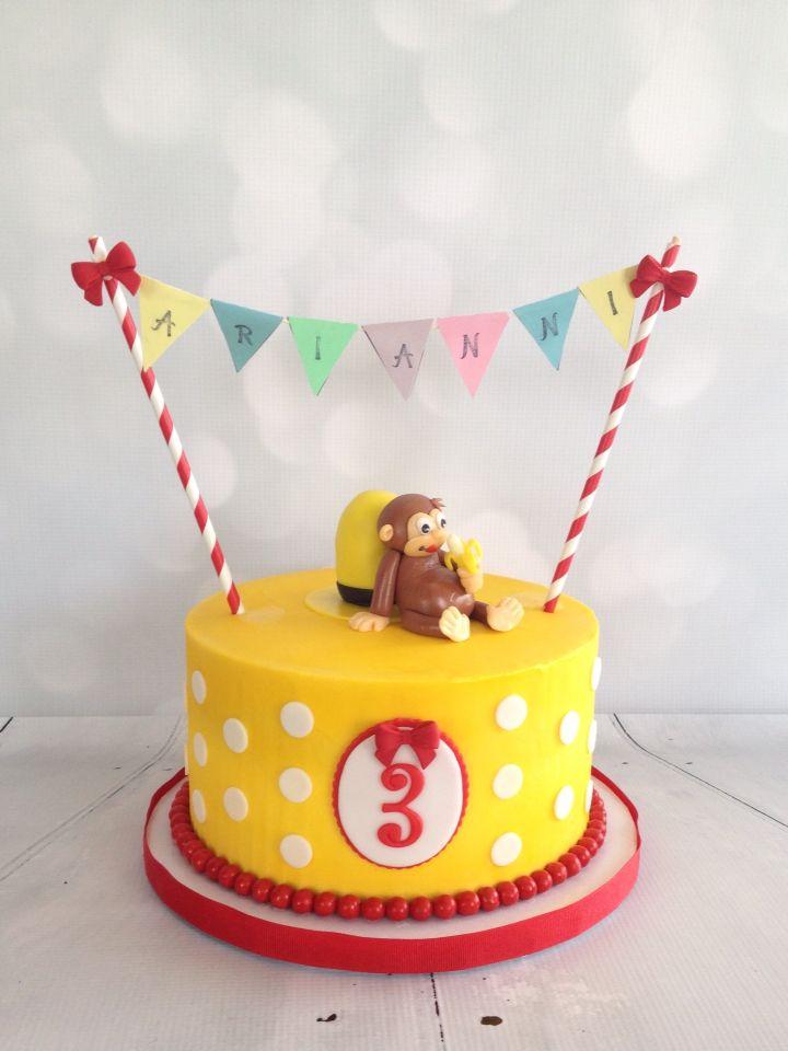 Curious George cake   Cakes   Curious george cakes, 1st ...