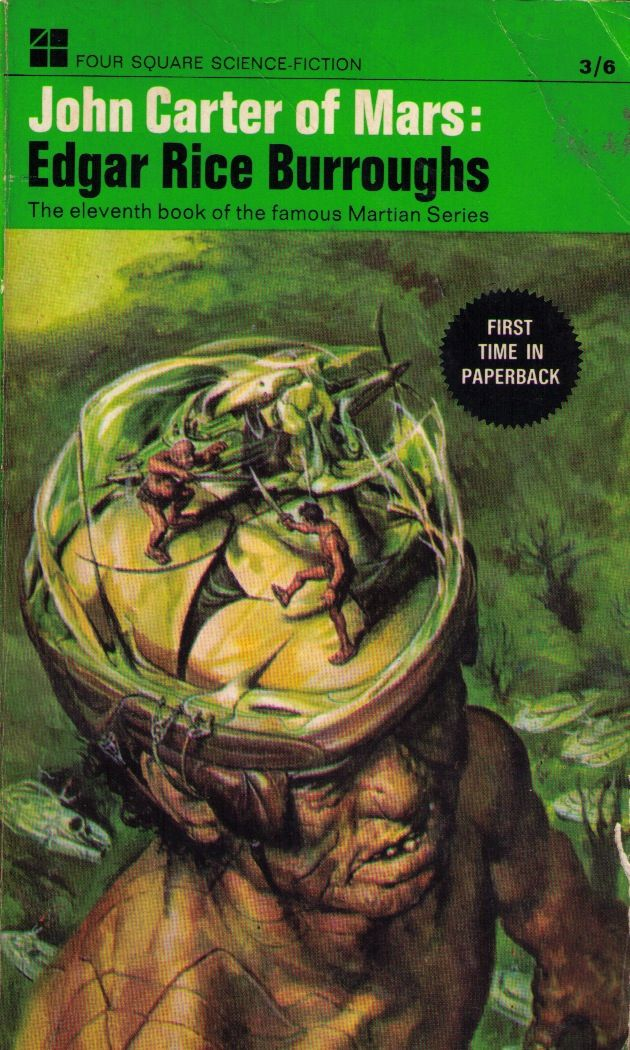 John Carter of Mars, Four Square Book, 1968