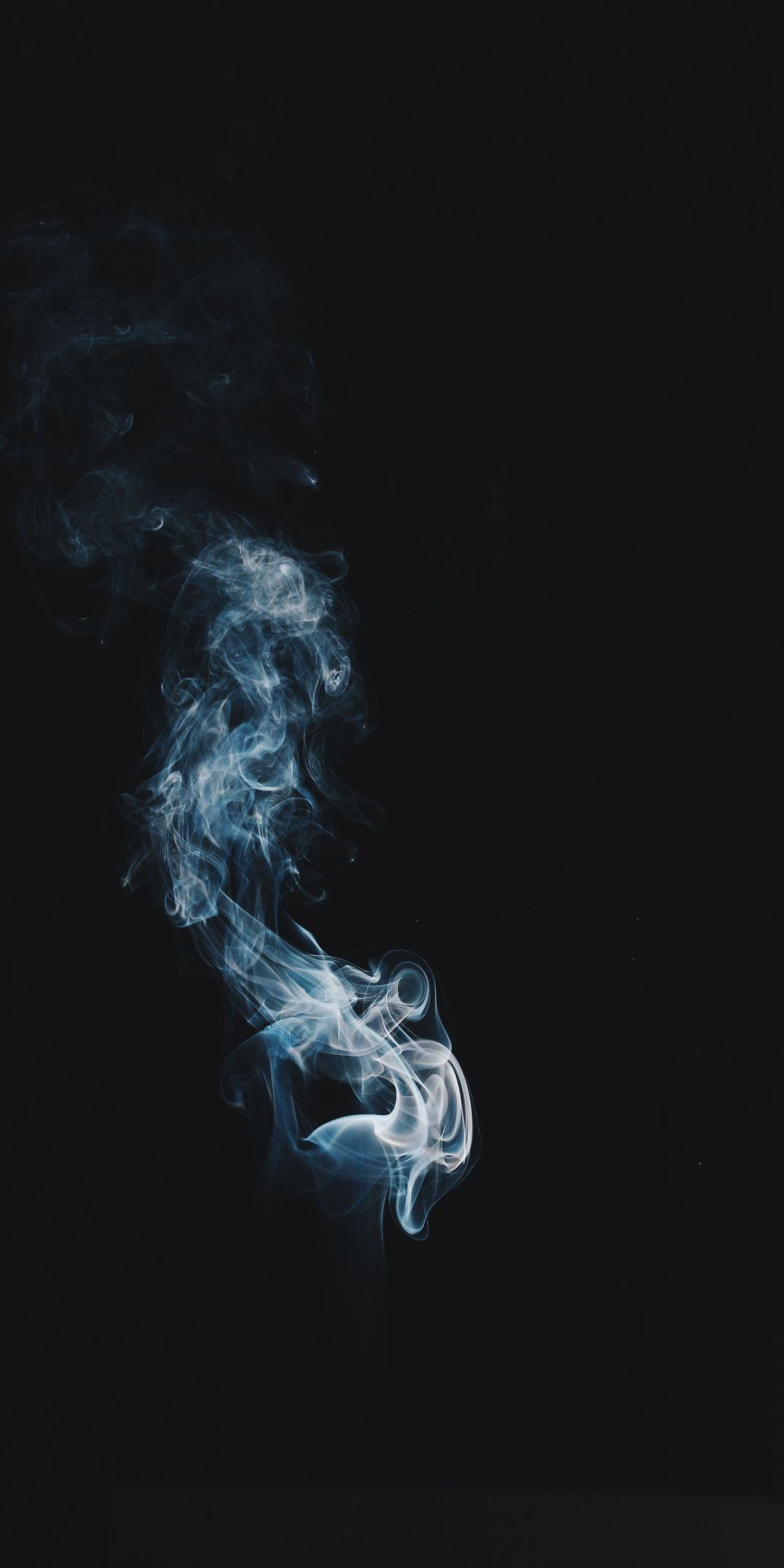 Minimal Smoke Dark 1080x2160 Wallpaper Wallpaper Smoke Art