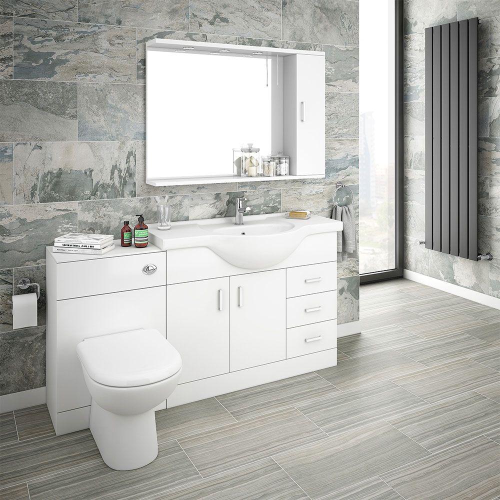 38++ Bathroom cabinets white high gloss inspiration