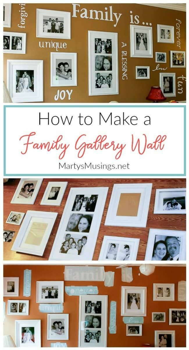 Complete tutorial on how to make a gallery wall on a budget with ...