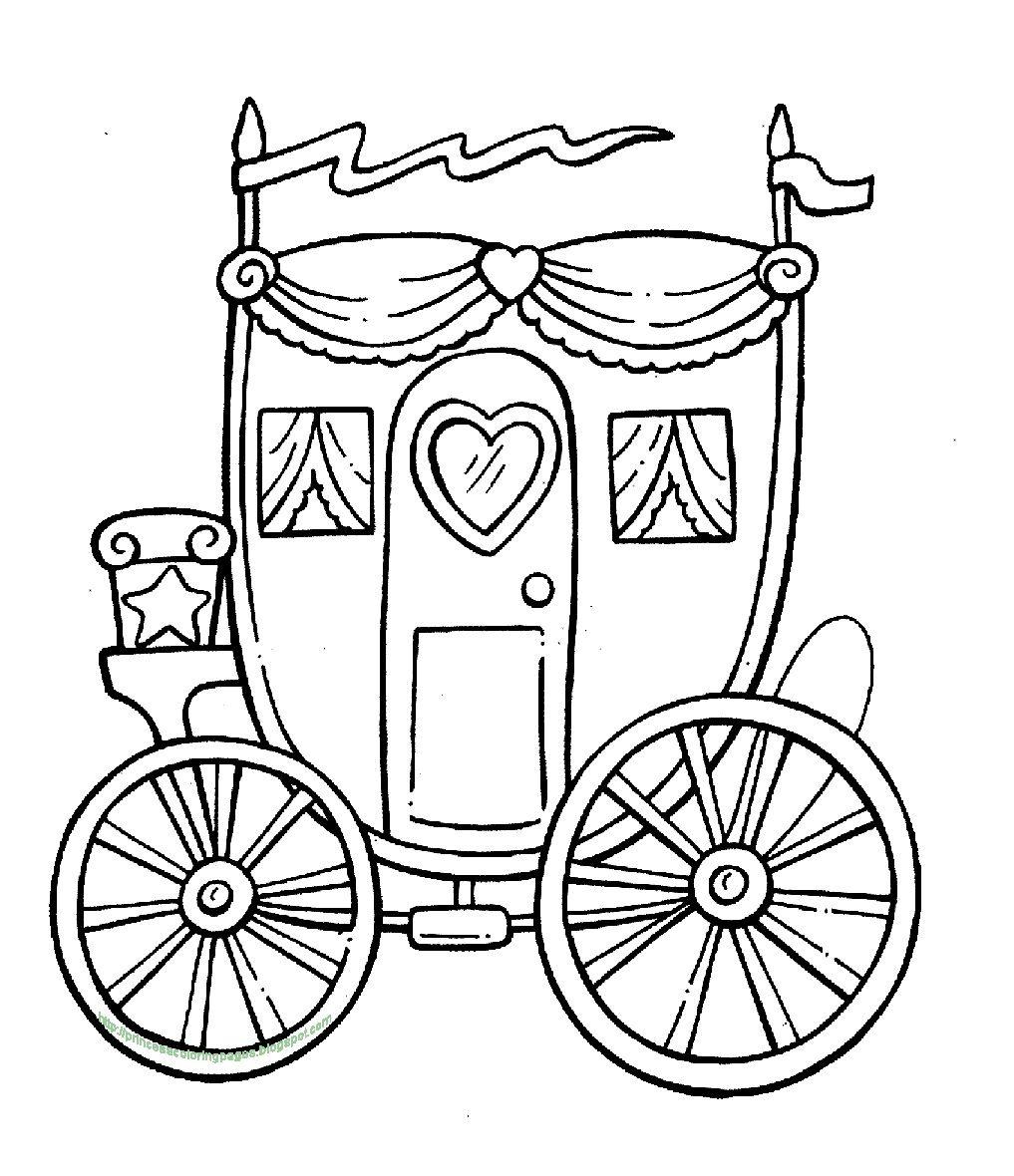 Kleurplaten Assepoester Koets.Prinsjesdag Route Gouden Koets Ervaren Kleurplaten