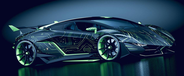 Lamborghini Concept Car Quot Resonare Quot By Paul Breshke On