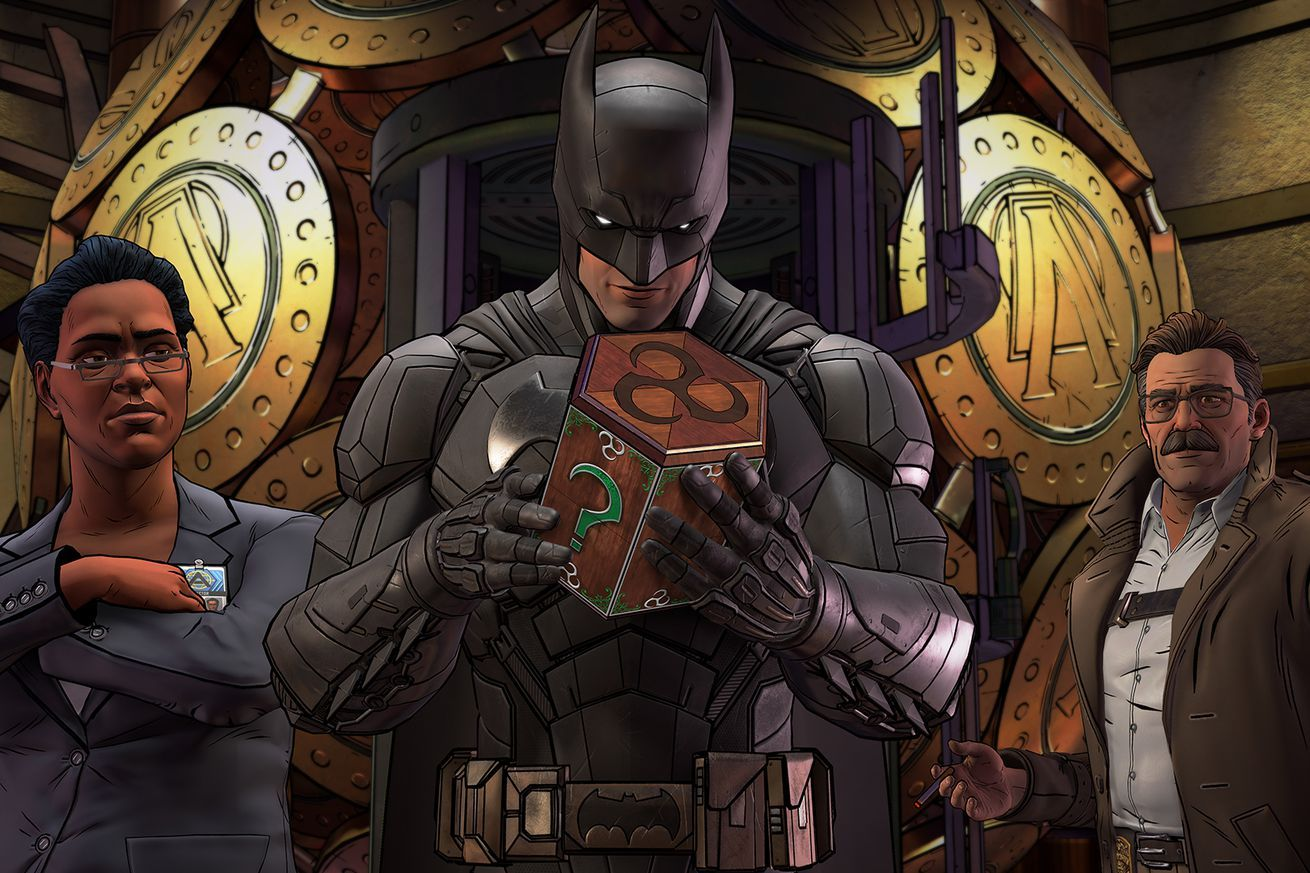 Telltale's Batman game will continue to make big changes