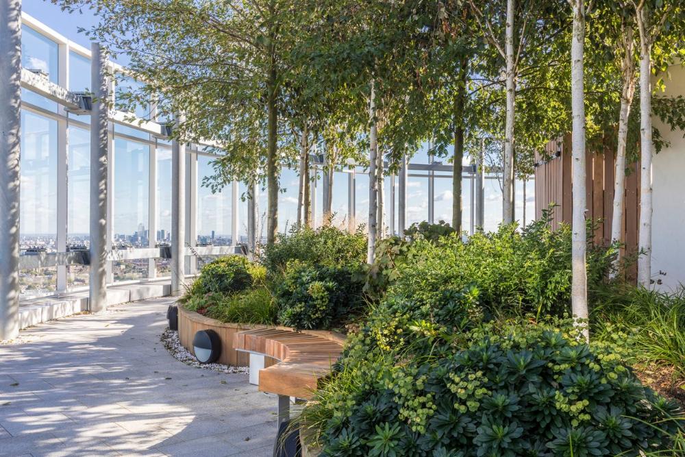 office sky garden - Google 搜尋 in 2020 | Sky garden, Roof ...