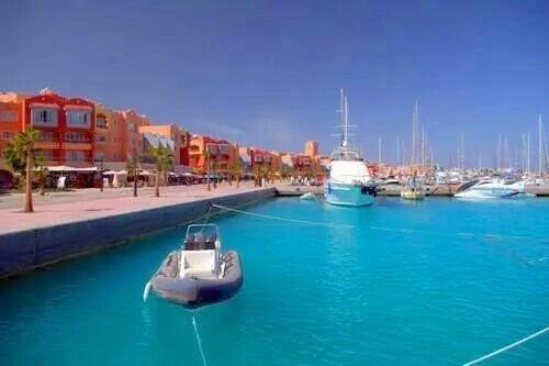New marina horghada Egypt