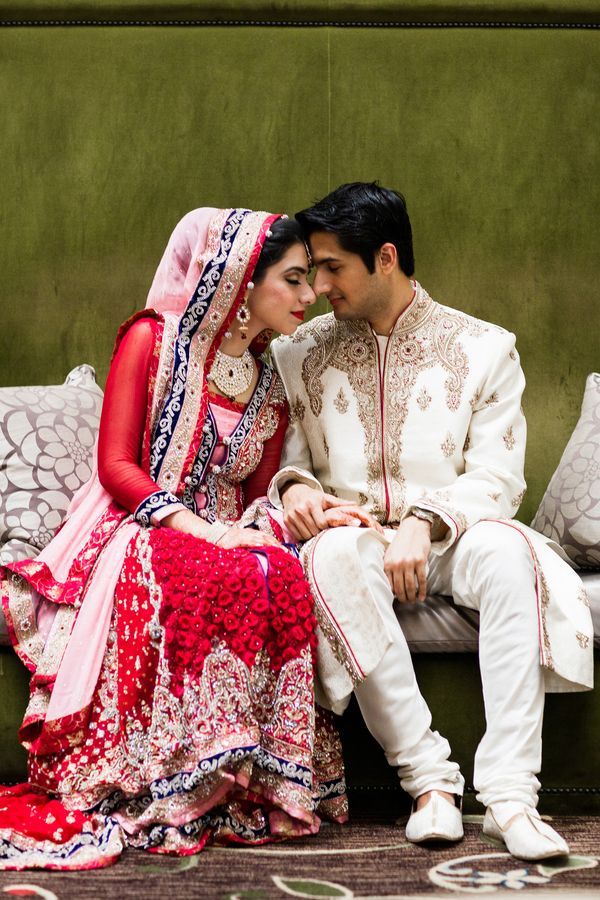 Click to see Madiha and Shiraz's amazing Indian wedding