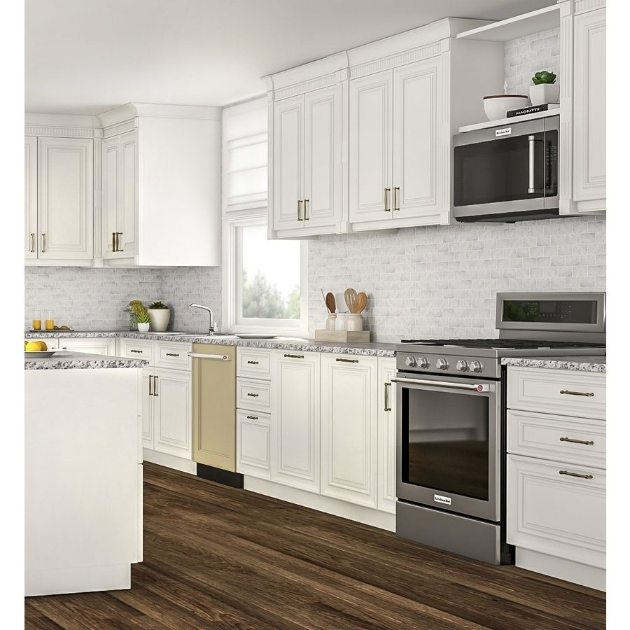 Kitchenaid 2 Cu Ft Over The Range Microwave With Sensor Cooking Stainless Steel Lowes Com Home Depot Kitchen Kitchen Cabinets Home Depot Thermofoil Kitchen Cabinets