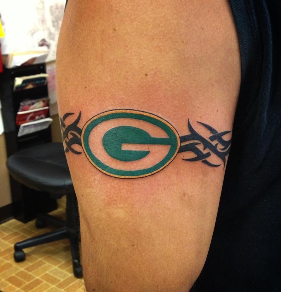 Hubby Has Almost Exact Tattoo Green Bay Packers Tattoo Tattoos Tattoo Pattern