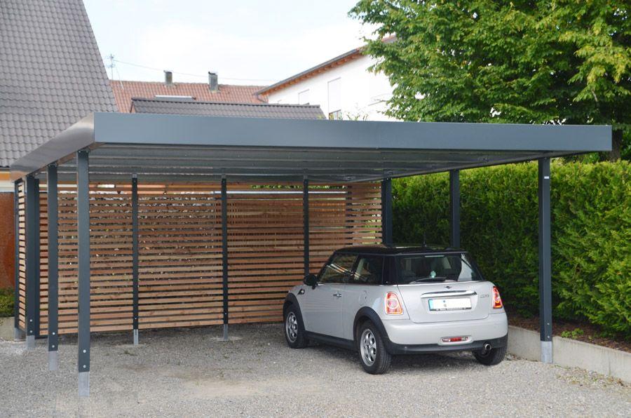 """Cool Doppelcarport """"Made in Germany"""" aus Stahl für 2 Autos oder einfach  FZ12"""