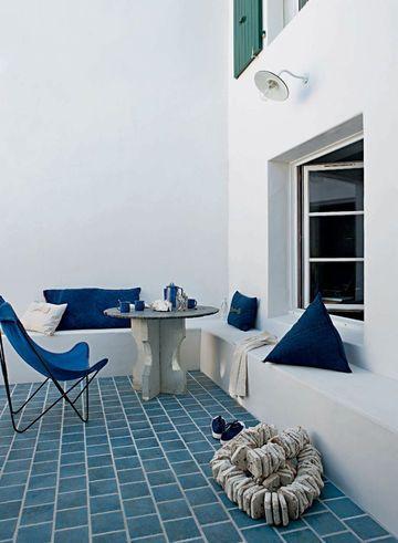 Maison Île de Ré : nos plus belles photos | patio | Maison, Deco ...