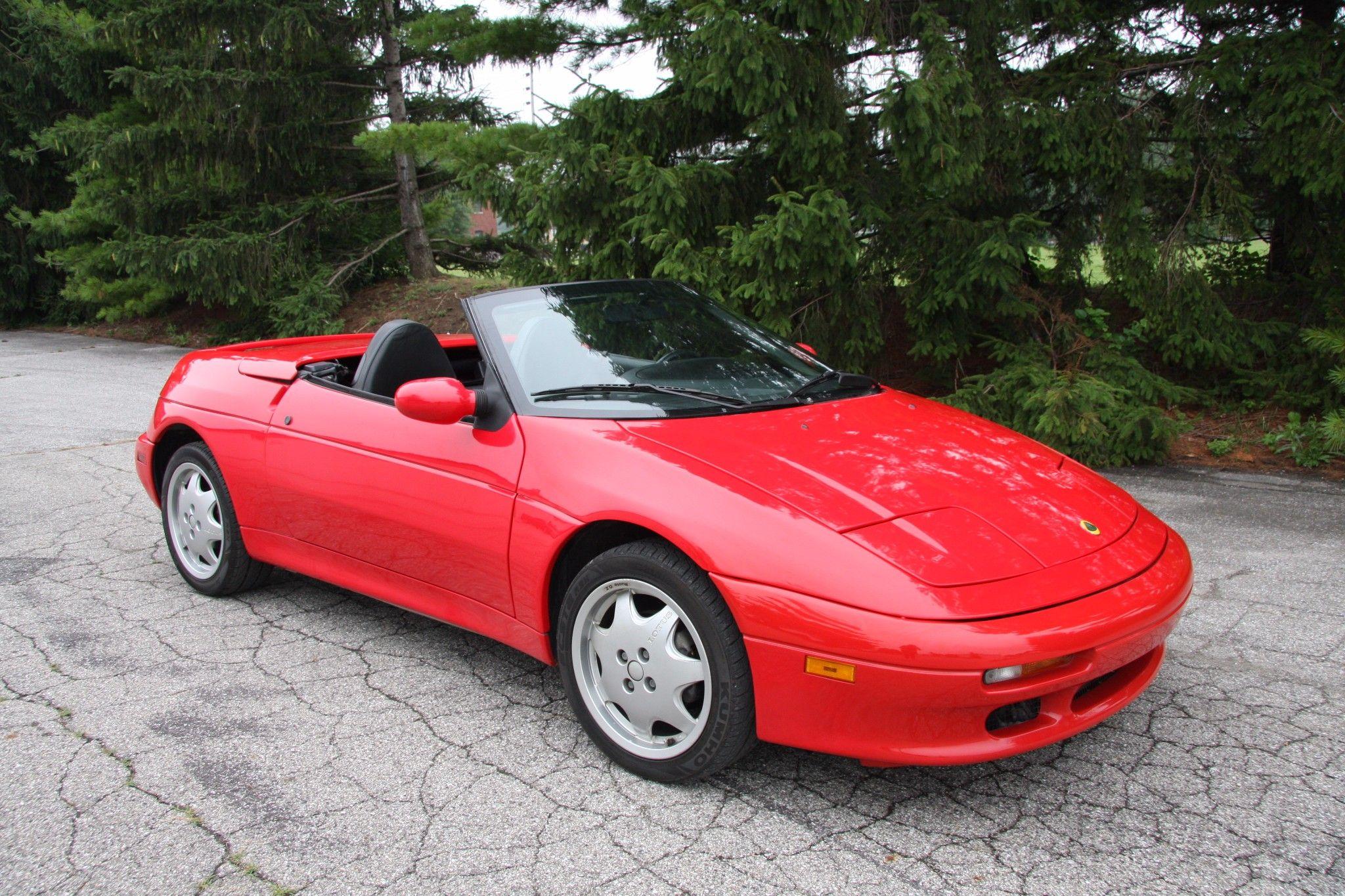 17K-Mile 1991 Lotus Elan M100   Lotus elan, Lotus, Lotus car