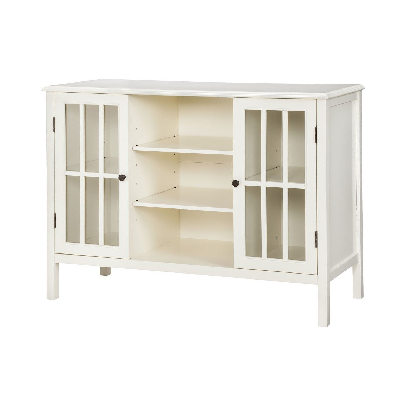 Windham 2 Door Cabinet With Shelves Threshold With Images Storage Cabinet Shelves Shelves Door Storage