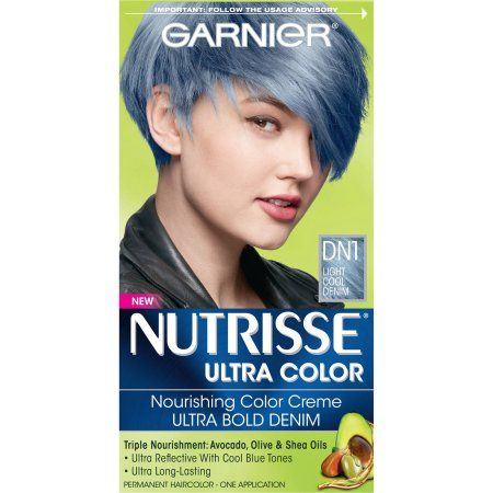 Beauty Hair Color Denim Blue Hair Cool Hair Color
