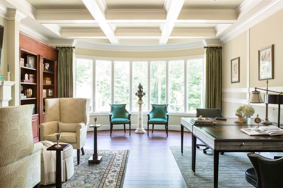Riverside Retreat Library And Office Lorna Gross Interior Design Study Office Homify Family Room Remodel Interior Design Home Decor