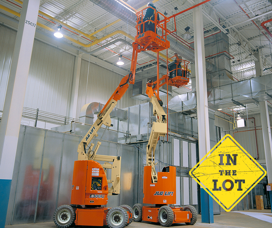 Car Toys Lewisville: JLG 30' Articulating Boom Lift, Electric Powered