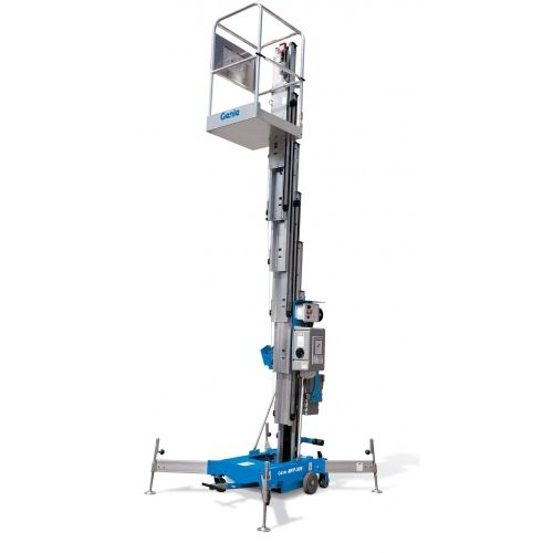 Man Lift Rentals Man Lifts Are Devices That Function Like A Mix Between An Escalator And Elevator They Move Passenge Portable Lifts Aerial Lift Scissor Lift