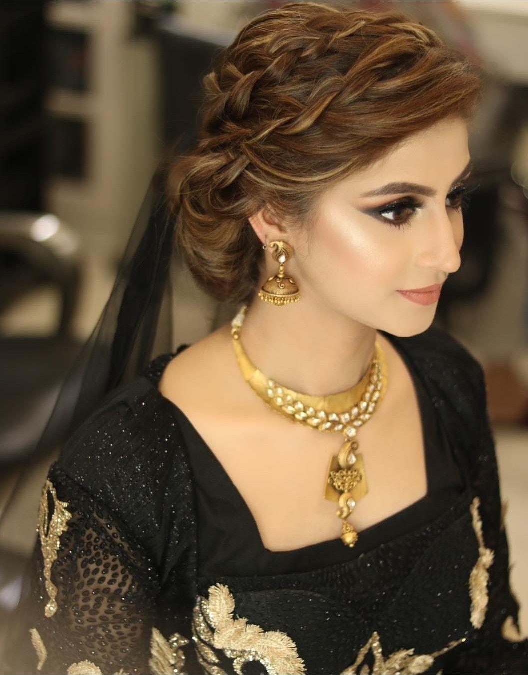 Pakistani Bridal Pakistani Bridal Hairstyles Pakistani Wedding Hairstyles Indian Bridal Hairstyles