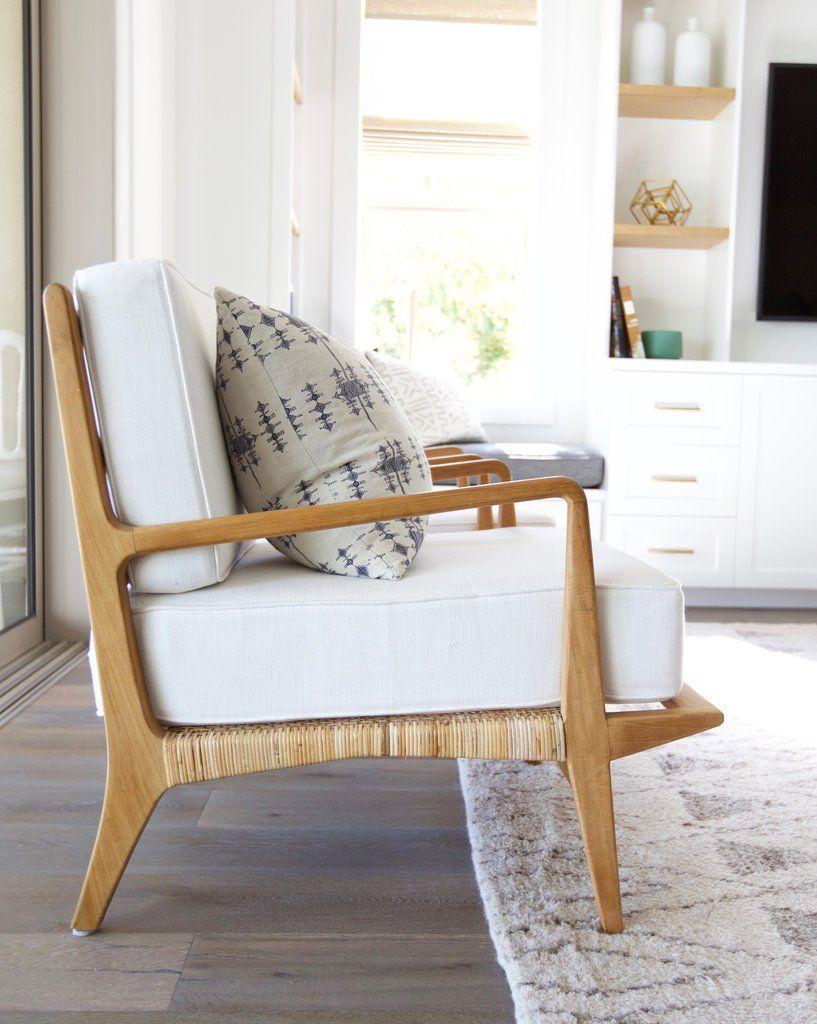 Arlo Chair | Rattan, Teak and Barbie dream house