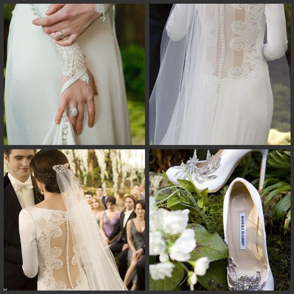 Beautiful Bella Twilight Wedding Dresses : Bella And Edward Wedding ...