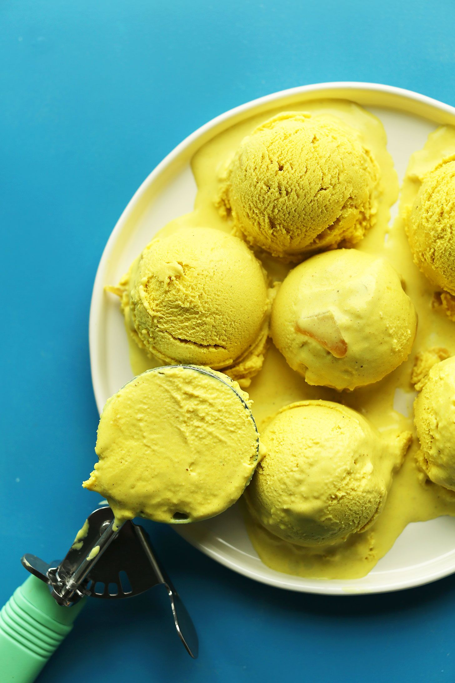 Golden Milk Ice Cream (Vegan) Recipe Milk ice cream