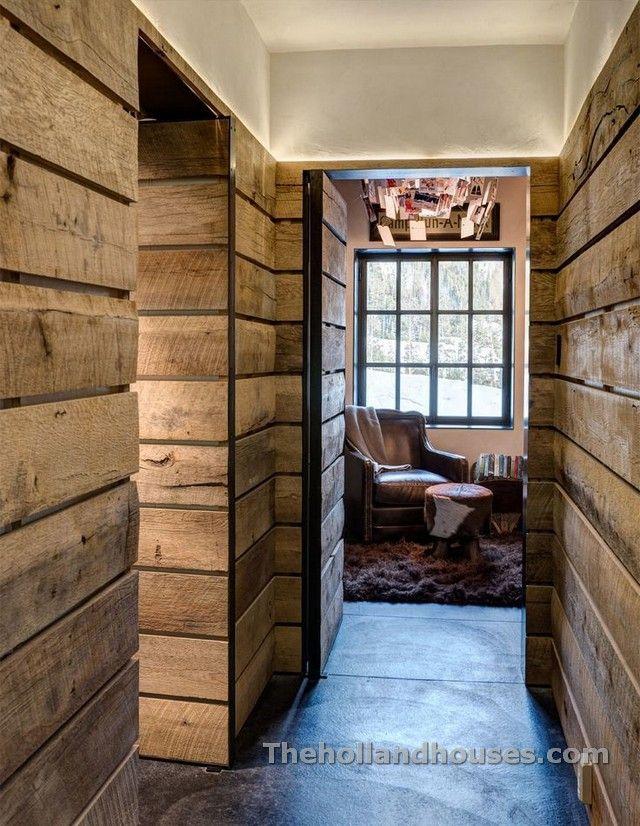 Rustic Wood Interior Walls Design Decoration
