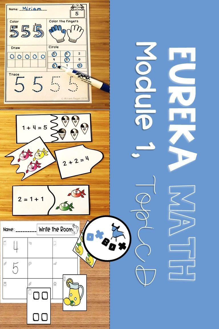 Eureka Math Module 1 Topic D Center Activities Eureka
