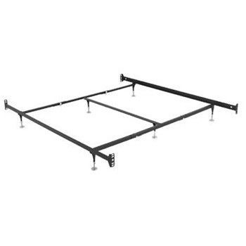 Adjustable Height Bed Frame w/ Headboard/Footboard Attachments ...
