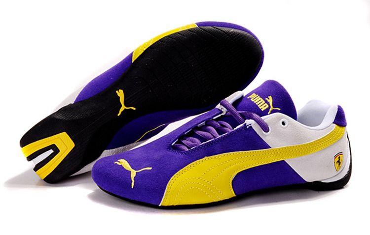 Men Puma Fur I - Blue Yellow Black