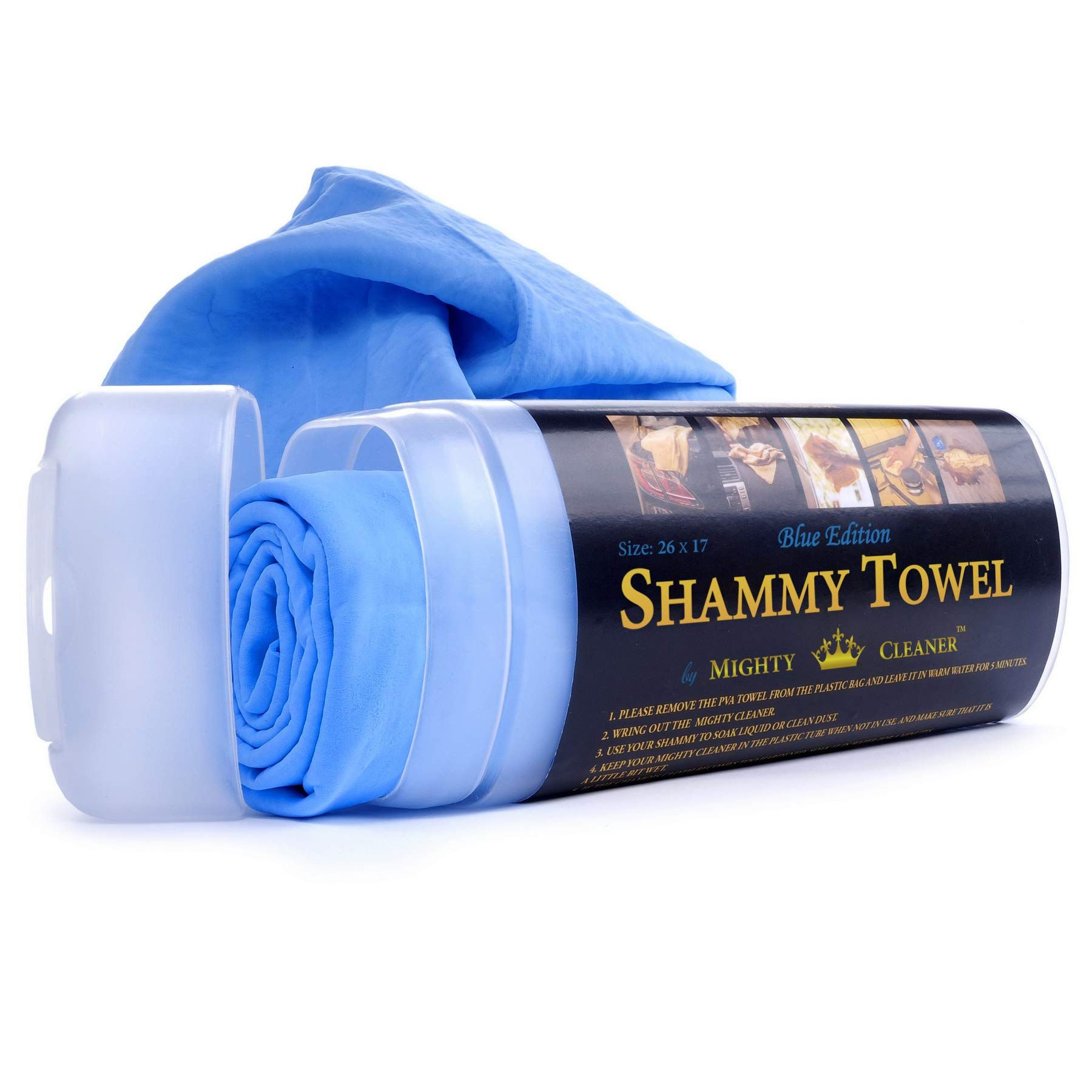 Mighty Cleaner Car Drying Towel 26 X 17 Chamois Cloth For Car Original Shammy Towel For Car Ad Drying Sponsored T Drying Towels Car Cleaning Towel