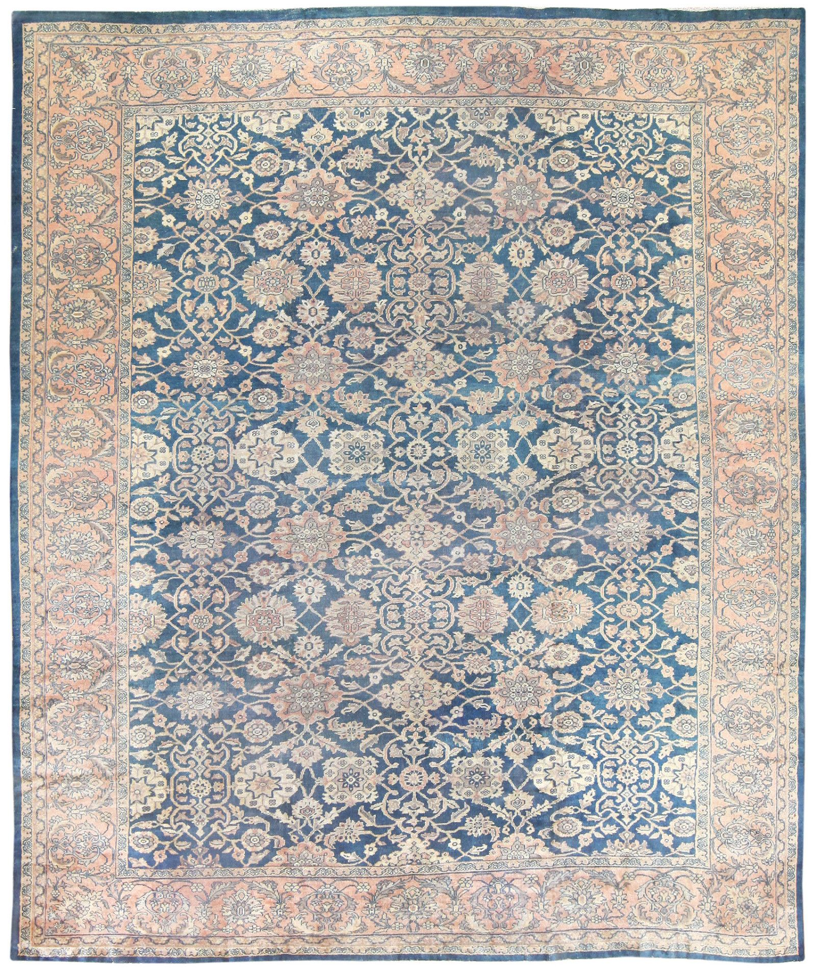 Large Antique Persian Sultanabad Rug 50078 By Nazmiyal Sultanabad Rug Rugs Antiques