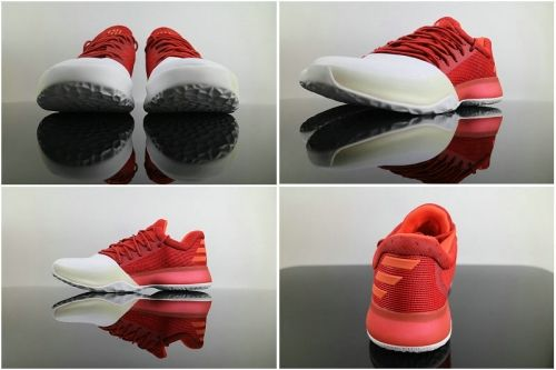 BW0547 RED//WHITE SIZE 11.5 MEN/'S ADIDAS HARDEN VOL 1