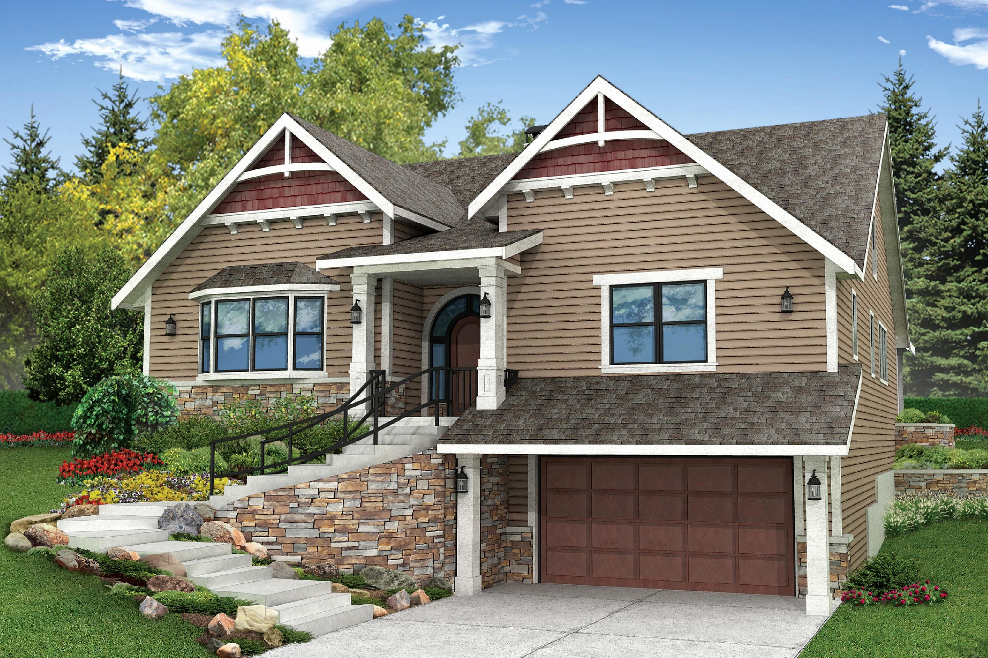 slope home plans lovely sloping lot house plans house