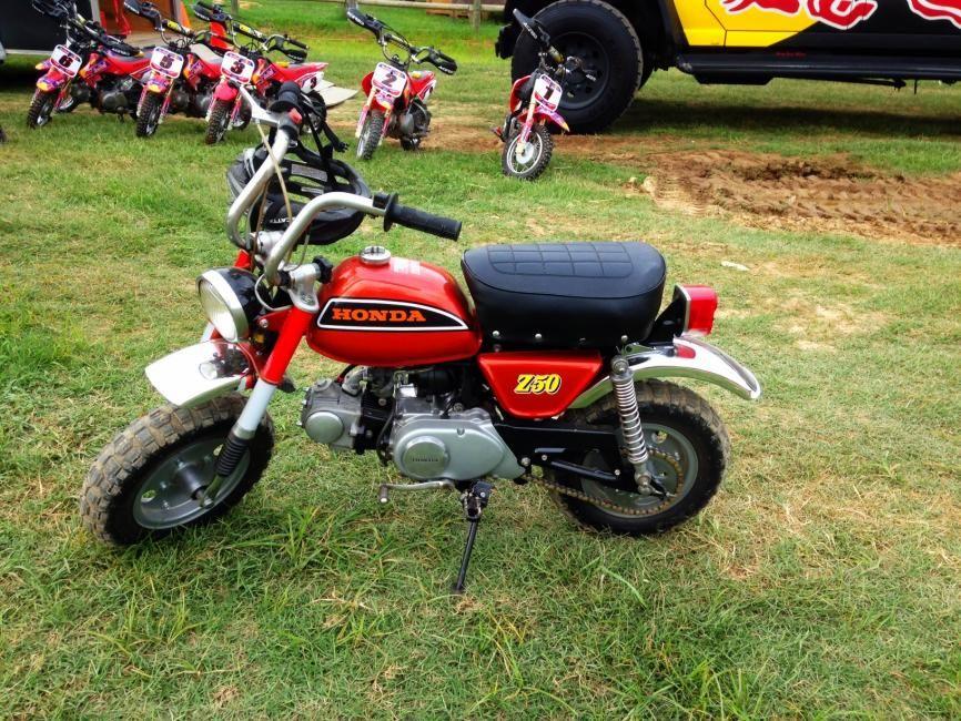 Honda Z50 Pit Bike | Cool Bikes | Pinterest | Pit bike, Honda and ...