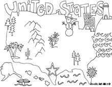United States Free printable coloring sheets of every