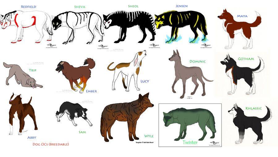 My Dog ocs (Breedable) by KTLasair deviantart com on