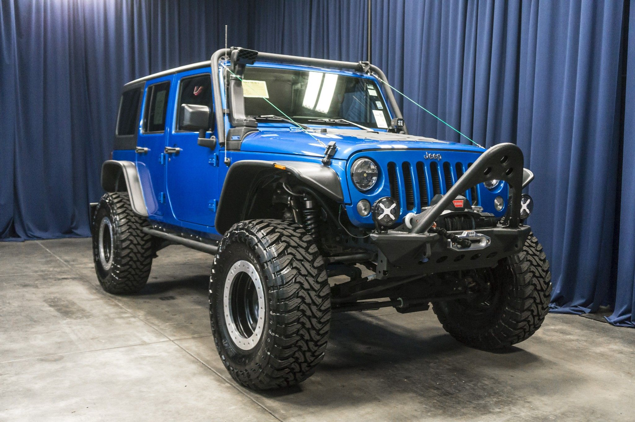 Lifted 2015 Jeep Wrangler Unlimited Sport 4x4 2015 jeep