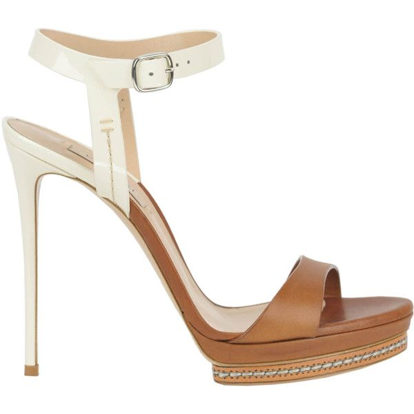 91063ec66c2 Casadei Ranger Sandals ( 308) ❤ liked on Polyvore featuring shoes ...
