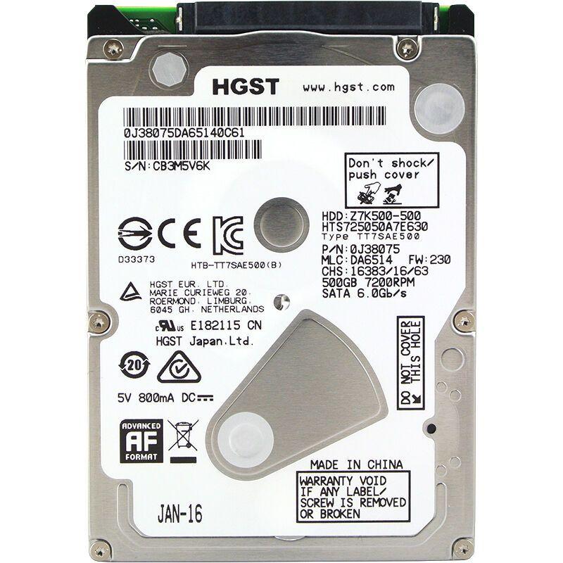 Original Internal Hard Drive Disk 500g Hdd 2 5 Sataiii 7200rpm For Laptop Notebook High Speed Hd Hard Disk Hts725050a7e630 Laptop Hard Drive Hard Drives Hdd