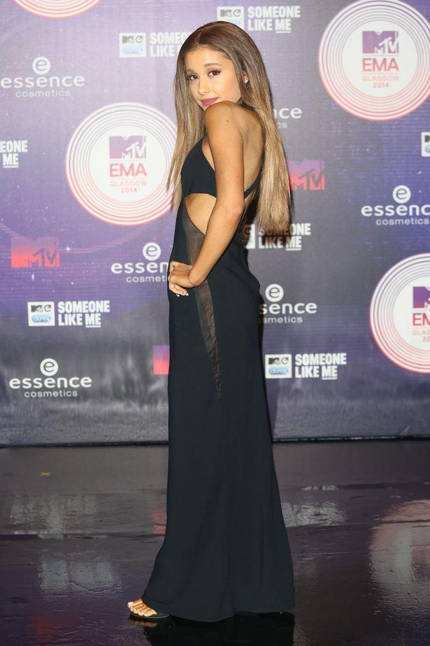 Ariana grande red carpet style dress